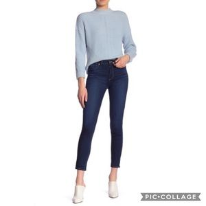 PAIGE | Hoxton Ankle Skinny Jeans